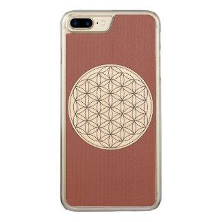 Flor de la vida funda para iPhone 7 plus de carved