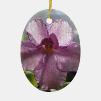 Flor de la violeta africana de la lavanda adorno para reyes