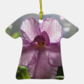 Flor de la violeta africana de la lavanda adorno