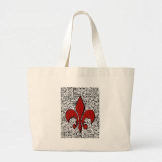 flor de lis bolsa