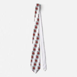 flor de lis corbatas personalizadas