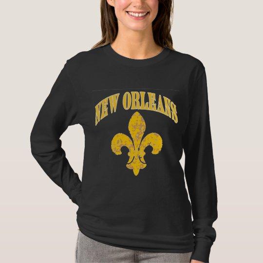 Flor de lis de New Orleans Camiseta