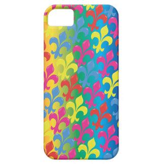 Flor de lis por completo iPhone 5 Case-Mate protector