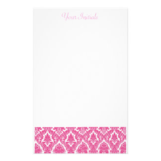 Flor de lis rosada papeleria