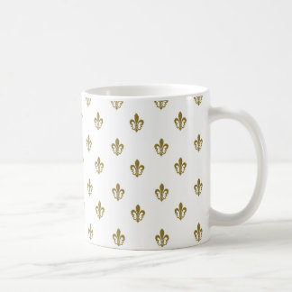 Flor de lis taza