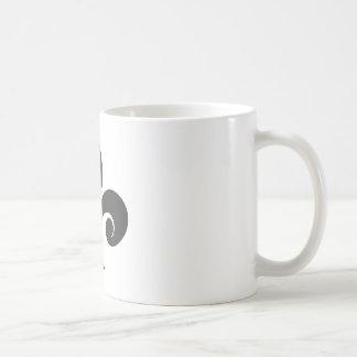 Flor de lis taza de café