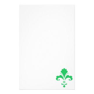 Flor de lis verde de Kelly Papeleria