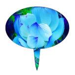 Flor de loto azul y su significado figuras para tartas
