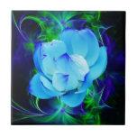Flor de loto azul y su significado azulejo