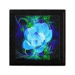 Flor de loto azul y su significado cajas de joyas