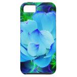 Flor de loto azul y su significado iPhone 5 Case-Mate carcasa