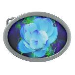 Flor de loto azul y su significado hebillas cinturon ovales