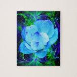 Flor de loto azul y su significado rompecabeza con fotos