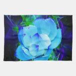 Flor de loto azul y su significado toallas de mano