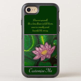 Flor de Lotus (cojín de lirio) Funda OtterBox Symmetry Para iPhone 7