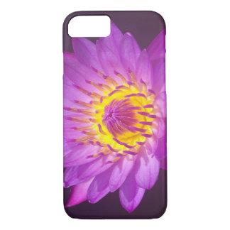 Flor de Lotus púrpura Funda iPhone 7