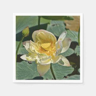 Flor de Lotus Servilleta Desechable