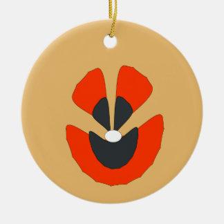 flor de lujo adorno de cerámica