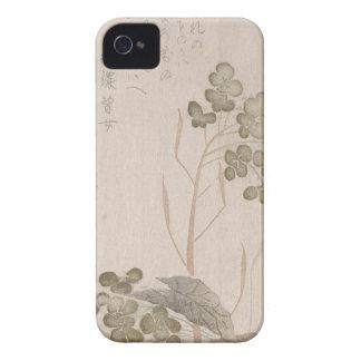 Flor de Natane - origen japonés - período de Edo Carcasa Para iPhone 4 De Case-Mate