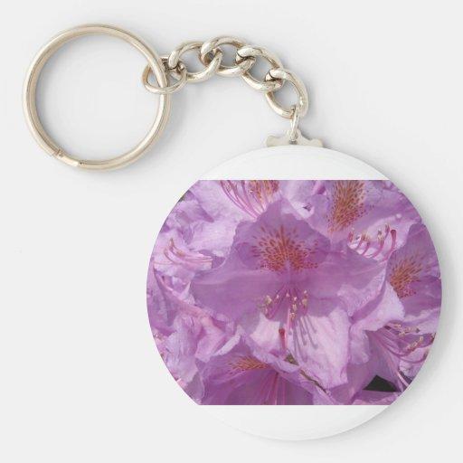 Flor de Violett Llaveros Personalizados