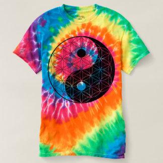 Flor de Yin Yang de la vida Camiseta
