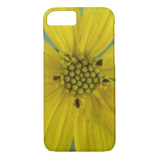 Flor del jardín del amarillo del Coreopsis de Funda iPhone 7
