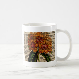 Flor del javanicum del rododendro taza de café