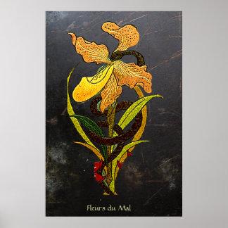 Flor del mal póster
