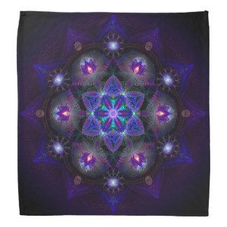 Flor del pañuelo de la mandala de la vida bandanas