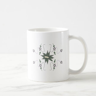 Flor del prado taza de café