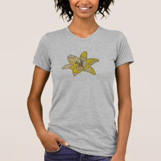 Flor del remiendo camiseta