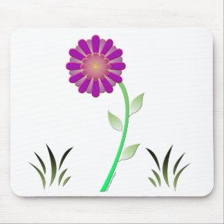 Flor del vector alfombrilla de ratón
