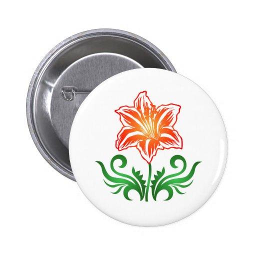 Flor del vector: pin