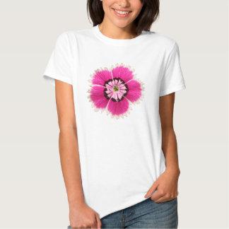 Flor fucsia camisas