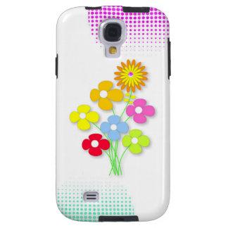Flor hermosa funda galaxy s4