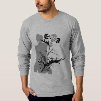 Flor japonesa camiseta