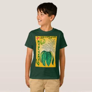 Flor loco del mango camiseta