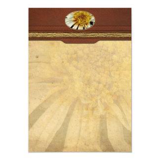 Flor - margarita - sol borracho invitacion personal