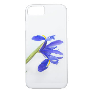 Flor púrpura del iris funda iPhone 7