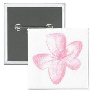 Flor rosada pin