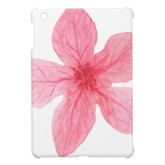 flor rosada de la acuarela