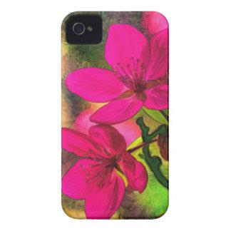 Flor rosado hermoso de la manzana. Femenino Funda Para iPhone 4 De Case-Mate