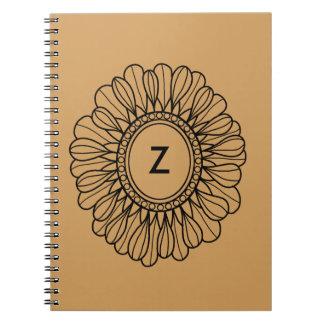 Flor sola cuaderno