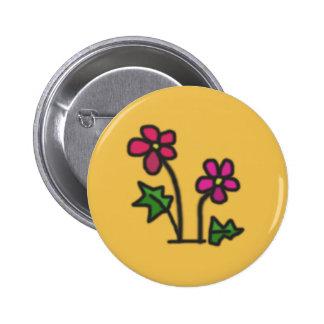 Flor suave chapa redonda de 5 cm
