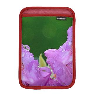Flor violeta funda para iPad mini