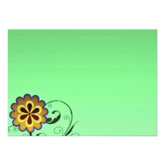 Flor y regalo expresivos del special de los remoli comunicado personalizado