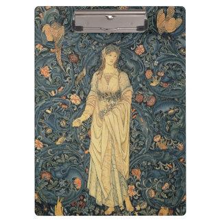 Flora antigua de William Morris Carpeta De Pinza