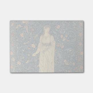 Flora antigua de William Morris Notas Post-it®
