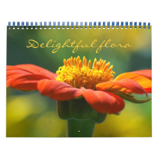 flora delighful - calendario 2018