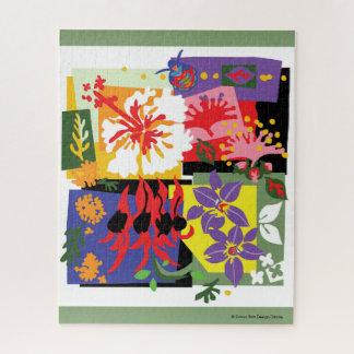 Flora - rompecabezas